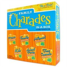Family Charades In A Box Compendium @ chapters