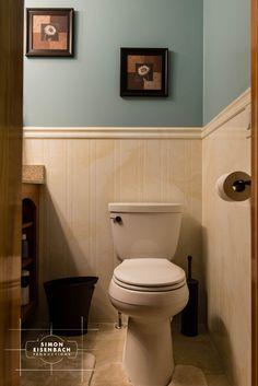 blue and tan bathroom - Google Search Tan Bathroom, Bathroom, Toilet, Blue