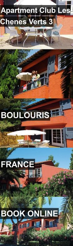 Hotel Apartment Club Les Chenes Verts 3 in Boulouris, France. For more information, photos, reviews and best prices please follow the link. #France #Boulouris #hotel #travel #vacation
