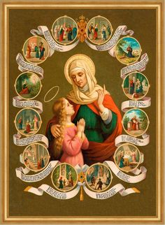 St. Anne, Patroness of Mothers and Grandmothers