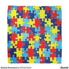 Autism Awareness Bandana