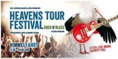 Heaven's Tour Musik Festival 2014 12 Stunden Live-Musik zum Null-Tarif  Sechs Bands werden auf dem Heaven's Tour Musik Festival 2014 in Lübeln auftreten. das Heaven's Tour Festival wird auch 2014 im Wendland wieder das Vatertagsziel Nr. 1 sein und das Festival ist wieder umsonst & draußen! www.kartoffel-hotel.de/musik-festival