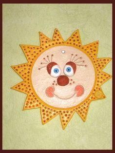 Cake Pop Tutorial, Sun Art, Recycled Materials, Terracotta, Recycling, Rocks, Creations, Kids Rugs, Decor