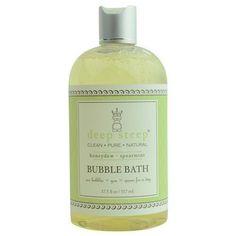 Deep Steep Honeydew-spearmint Organic Honey Bubble Bath 17.5 Oz By Deep Steep