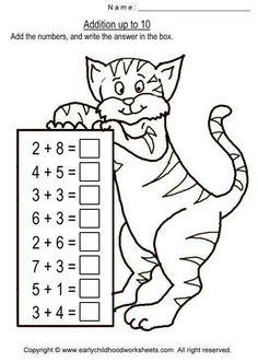 Ideas for printable math games kindergarten grades 1st Grade Math Worksheets, Kindergarten Math Worksheets, First Grade Math, Math Classroom, Math Activities, Preschool Activities, Printable Math Games, Printable Worksheets, Free Printable