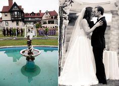 #OutdoorCeremony #ElmCourtEstate #Lenox #MA #Weddings #WeddingPlanning #InspiredOccasions #DayOfCoordination