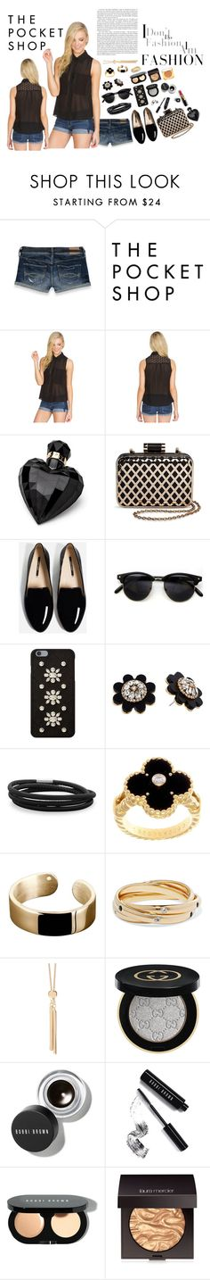 """""""❈ The Pocket Shop - 2 ❈"""" by style-and-chic-boutique ❤ liked on Polyvore featuring Abercrombie & Fitch, Lipsy, Tevolio, Chanel, MICHAEL Michael Kors, Kate Spade, BillyTheTree, Van Cleef & Arpels, Ekria and Elizabeth and James"""