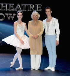 Camilla Parker Bowles Photos Photos - Camilla, Duchess of Cornwall meets Anna Nikulina (principle dancer) and Artem Ovcharenko (Principle)  the Bolshoi Theatre Moscow after a private performance at the National Theatre on day 4 of a Royal tour of Bahrain on November 11, 2016 in Manama, Bahrain. Prince Charles, Prince of Wales and Camilla, Duchess of Cornwall are on the final day of a Royal tour of the Middle East starting with Oman, then the UAE and finally Bahrain. - The Prince of Wales…