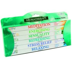 Stamford Aromatherapy Incense Gift Pack (MultiColor) -1 Set x 6 packs (8 sticks per pack) -Made in India -Assorted Fragrances -A great alternative to Fragrance Oils or Candles -Great Gift & Premium Quality