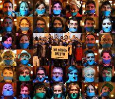 Las gentes de @Nosomosdelito saben que, como I. Serrano, ni atrapad@s en gris, ni en azul. #26MStopMordazas