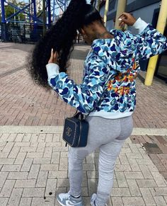 Baddie Outfits Casual, Dope Outfits, Girl Outfits, Fashion Outfits, Black Girl Fashion, Tomboy Fashion, Tomboy Style, High Fashion, Mall Outfit