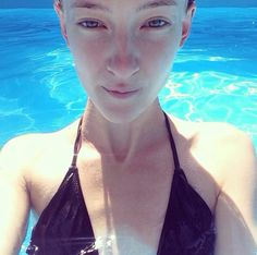 Pool selfie ☀️☀️☀️ #summer #pool #holiday #sun #hot #relax #sexy #model #selfie #warsaw #home #instapic #chill #instafamous #sexy #instalikes #instalife #fuckinghot #instaselfie
