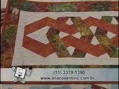 ▶ Patchwork Ana Cosentino: Caminho de Mesa Entrelaçado - YouTube