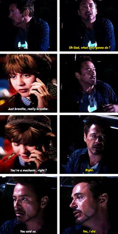 """Why don't you just build something?"" (Tony and Harley, ""Iron Man 3"")"