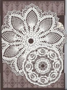 Hello, Doily Gossamer Lace by Dbamesberg - Cards and Paper Crafts at Splitcoaststampers