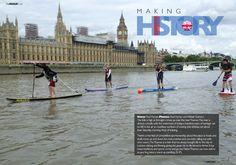 Big Ben, Sup Racing, Paddle, Louvre, Challenges, London, Places, Travel, Viajes