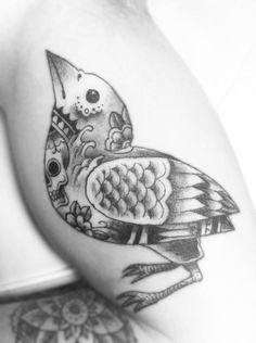 bird tattoo has tattoos.