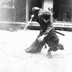 Rurouni Kenshin: The Legend Ends BTS. Takeru Sato as Kenshin Himura.