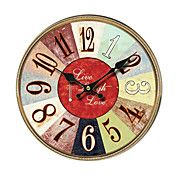 Mediterranean Wall Clock – USD $ 34.99
