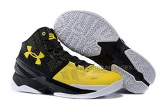uk availability 5ee31 5aae7 Vind Under Armour Curry 2 Long Shot Black Taxi-White On Sale online of in  Jordany. Shop Top Brands en de nieuwste stijlen Under Armour Curry 2 Long  Shot ...