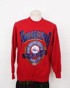 e5fa26f324a 76ers vintage sweatshirt NBA retro sweater https   img0.etsystatic.com