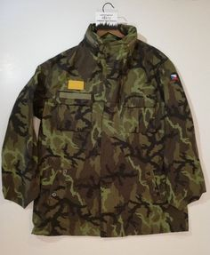 a9f3a29cb GENUINE CZECH ARMY M95 WOODLAND CAMOUFLAGE BATTLE FIELD JACKET SUPREMELY  MADE #fashion #clothing #