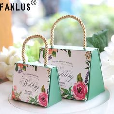 FANLUS Wedding paper Gift Boxes wedding gifts for guests Party Favors Bags Candy paper Gift Chocolate Box Event Decoration Wedding Favors And Gifts, Wedding Welcome Bags, Wedding Favor Bags, Candy Gift Box, Paper Gift Box, Paper Gifts, Candy Boxes, Gift Boxes, Favor Boxes