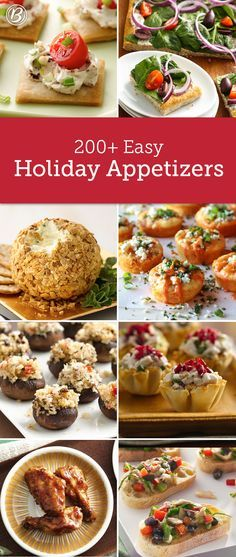 Whether you're hosting the party or bringing a dish to share, here's every appetizer you'll ever need—from make-aheads and one-bites to apps ready in 15 minutes!