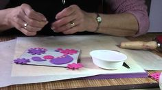 Gelli plate tutorial plus alternatives to use- using sticky backed foam to make stencils.