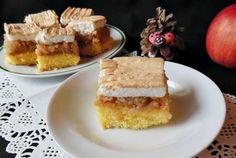 Prajitura cu mere si bezea! Se topeste in gura French Toast, Recipies, Cheesecake, Deserts, Cooking, Breakfast, Traditional, Recipes, Kitchen
