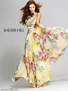 bright floral gown jst 2 brighten u up