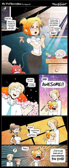 My Pet Succubus :: Boyfriend | Tapastic Comics - image 1
