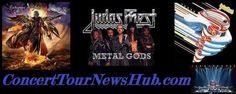 Updated Judas Priest 2015 Redeemer of Souls Tour   Schedule With Saxon - Updated @judaspriest @SaxonOfficial #MusicNews #TourSchedule