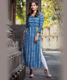 Buy Psyna Pearl Rayon Printed kurti collection online from exclusive dealer Simple Kurti Designs, Kurta Designs Women, Latest Kurti Designs, Printed Kurti Designs, Churidar Designs, Dress Neck Designs, Blouse Designs, Cotton Dresses Online, Kurta Patterns