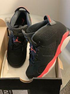 dfa7248a94f016 Jordan Retro 6 Infrared Size 2.5  fashion  clothing  shoes  accessories   kidsclothingshoesaccs