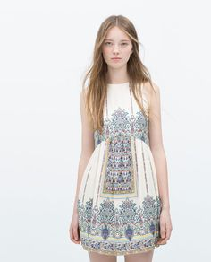 ZARA - NEW THIS WEEK - PRINTED DRESS