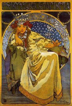 Princezna Hyacinta, Alphonse Mucha
