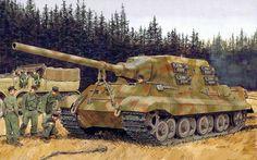 1944 West Jagdtiger - Ron Volstad