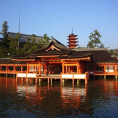 Itsukushima Shinto Shrine on Miyajima Island  © UNESCO / Giovanni Boccardi