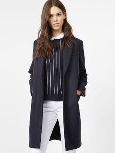Manteau droit de Comptoir des Cotonniers