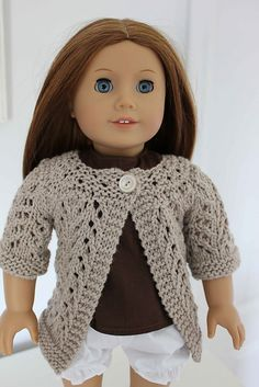 Free pattern for AG Doll sweater