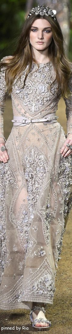 Elie Saab Spring 2016 Couture l Ria: