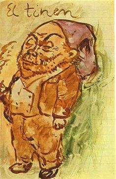 1906 El Tinen. Expresionismo. Período rosa