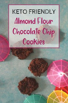 Keto Friendly Almond Flour Chocolate Chip Cookies