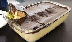 Nepečený dezert z kondenzovaného mléka se sušenkami připravený za 20 minut! | Vychytávkov