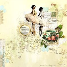 Weekends - Scraps of Elegance March Kit - created by Jennifer Snyder