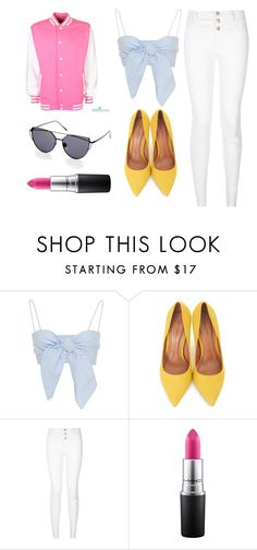 """""""Version One"""" by watermelon-lane on Polyvore featuring Moda In Pelle, New Look and MAC Cosmetics"""