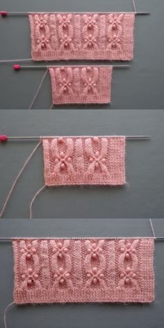 Easy Sweater Knitting Patterns, Knitting Stiches, Easy Knitting, Knitting Designs, Knit Patterns, Stitch Patterns, Knit Stitches, Sock Knitting, Knitting Machine