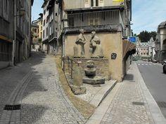 Tulle (Corrèze) - le coin des clampes
