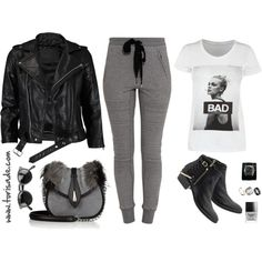Bad, created by torifbaby on Polyvore